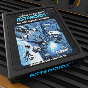 atari cartridge 3D model