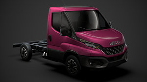 3D iveco daily single cab