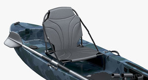 fishing kayak 3D model