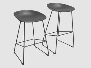 3D stool aas38 hay denmark