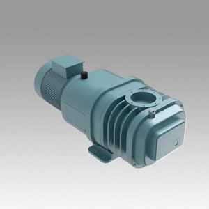vacuum pump rotor 3D model