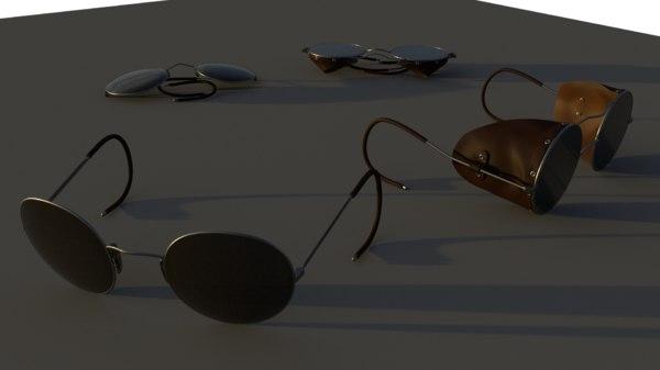 pilot glasses 3D