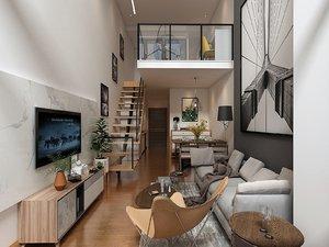 interior furniture 3D