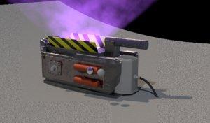 ghostbuster trap 3D