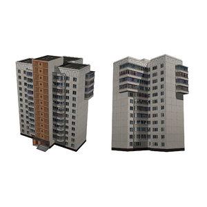 3D panel house multi-storey