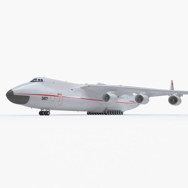 realistic antonov an-225 mriya model
