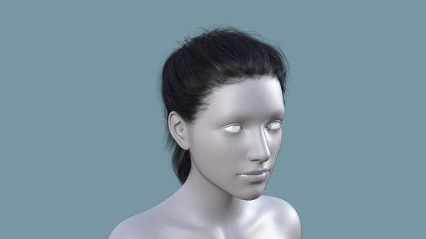 3D character hair