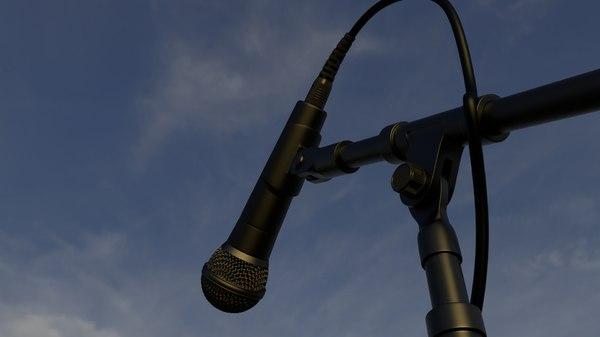 mic microphone micro 3D model