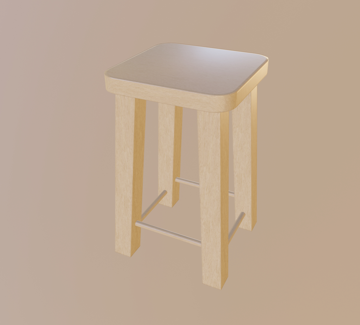 light stool 3D model