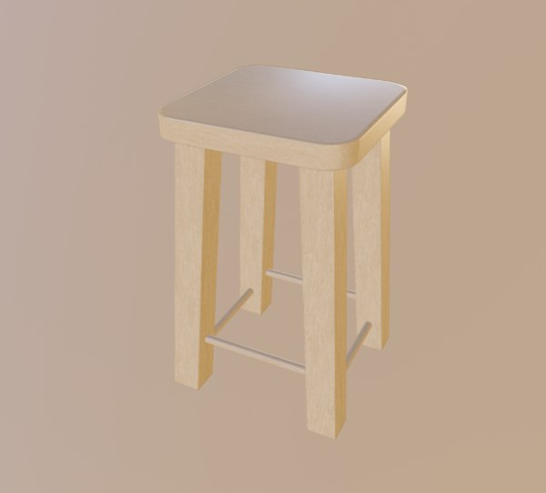 light stool 3D model