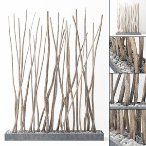 branch decor 3D model