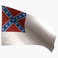 national flag 3D model