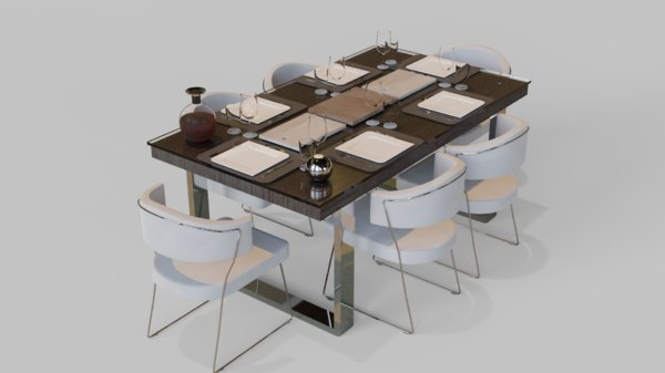 furniture table 3D model