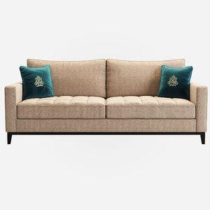 dantone liverpool sofa 3D model