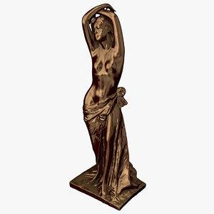 female statue 3D model