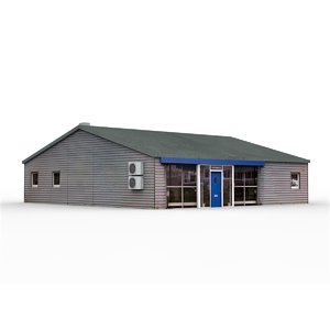 office building 7 3D model