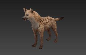3D model hyaenidae
