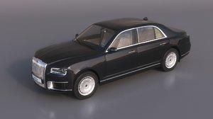 aurus senat car 3D model