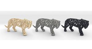 sumatran tiger model
