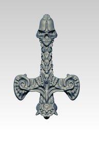 3D pendant jewel model