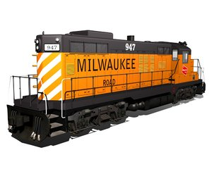 1960s gp9 locomotive max