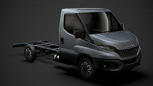 iveco daily single cab 3D model