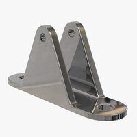 3D deck hinge mount