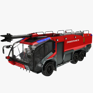 rosenbauer panther 6x6 s model
