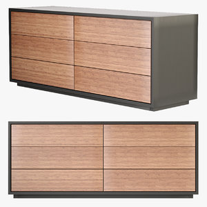3D chest drawers cosmopolitan