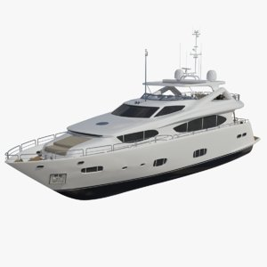 sunseeker 30m redshift 3D model