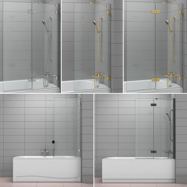 shutters baths radaway villeroy 3D