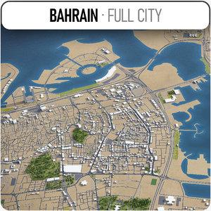 bahrain - 3D