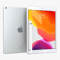 3D apple ipad 10 2