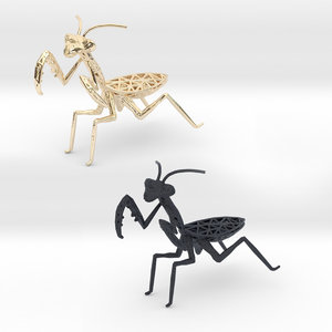 insects praying mantis model