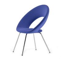 3D blue chair