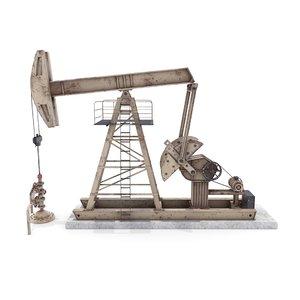 3D oil pumpjack