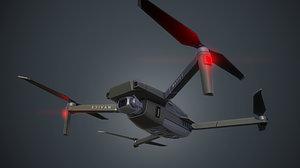 dji mavic 2 drone 3D model