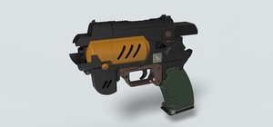 spacer pistol 3D model