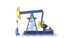oil pumpjack model