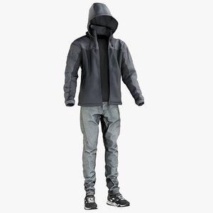 3D realistic 2 model