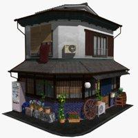 3D old osaka store