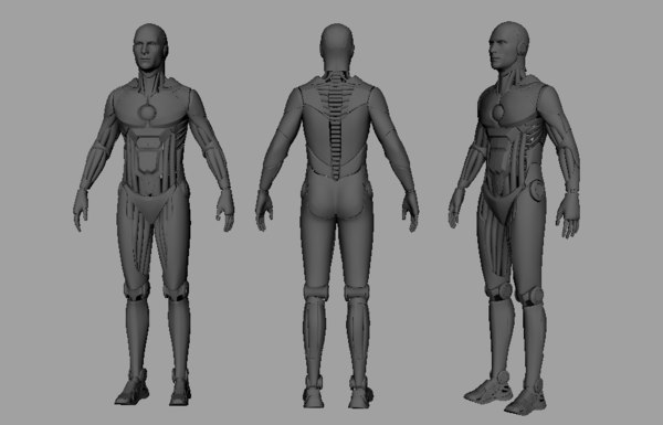 concept 3D model