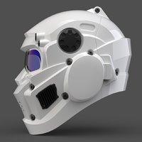 CAD-friendly Helmet model H1V1