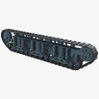 renault nc char d1 3D model
