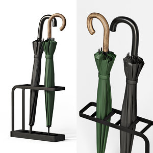 floors umbrella stand 3D