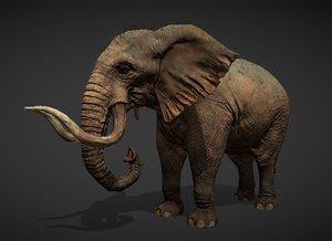 elephant animations model