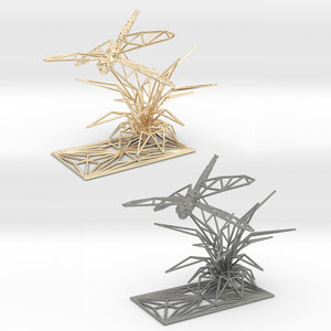 dragonfly insect 3D