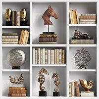 set decor sculptures 3D
