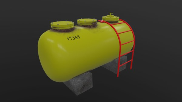 barrel steel 3D model