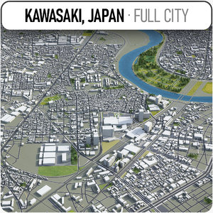 kawasaki surrounding - model